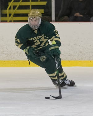 Brent Wolf's goal broke a 2-2 tie with 8:13 left in the game, giving Howell a 3-2 victory over Orchard Lake St. Mary's in the Alpena Holiday Showcase.