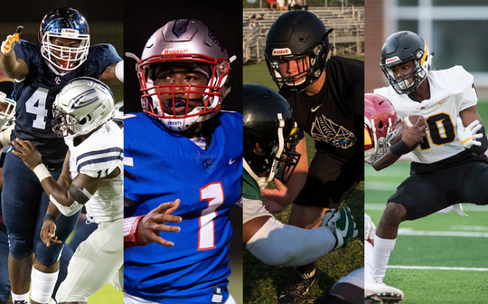 Four players from the Montgomery metro area are finalists for major All-State awards.