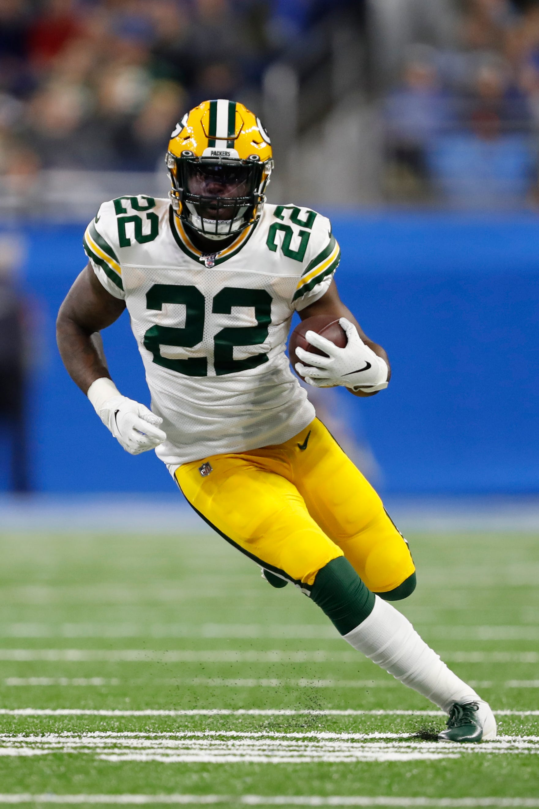 Packer: Dexter Williams contending with crowded backfield