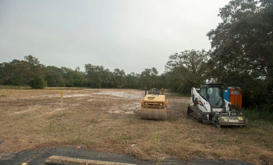 The new Holiday Inn Express is set to be built onvacant land on Andrew Jackson Trailbehind the Walmart Neighborhood Market.