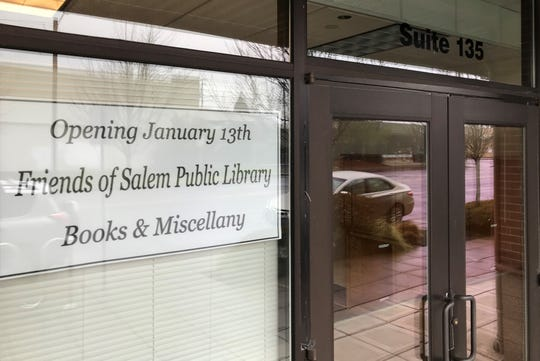 The Friends of Salem Public Library store is moving to 1127 Broadway Street, just south of Salem Cinema.
