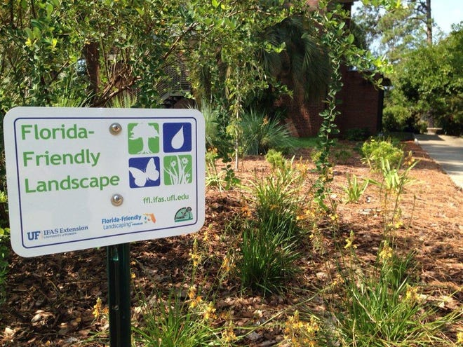 Residents can be recognized for implementing Florida-Friendly Landscaping practices.