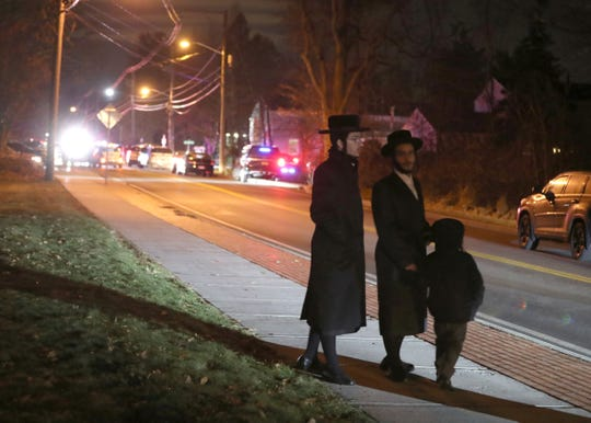 Forshay Road in Monsey, near where several people were stabbed at a synagogue Dec. 28, 2019.