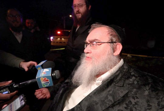 Aaron Kohn of Monsey describes seeing a man entering the home where a Hanukkah gathering was taking place and stabbing five people Sunday night.