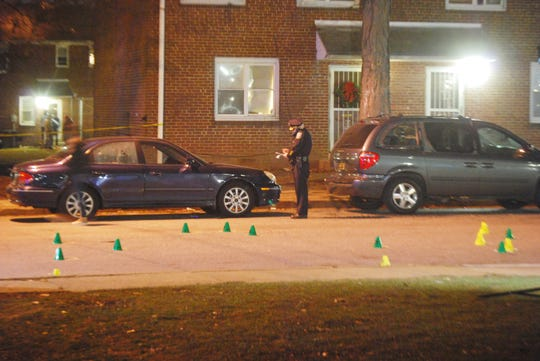 Wilmington Police investigate a shooting in Riverside that left a man dead.