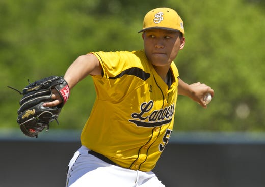 Justin Chin pitched St. John Vianney to the 2014 NJSIAA nonpublic A championship.