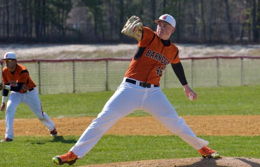 Barnegat's Jason Groome was the first round draft choice by the Boston Red Sox and the No. 12 overall pick in the 2016 Major League Baseball First-Year Player Draft.