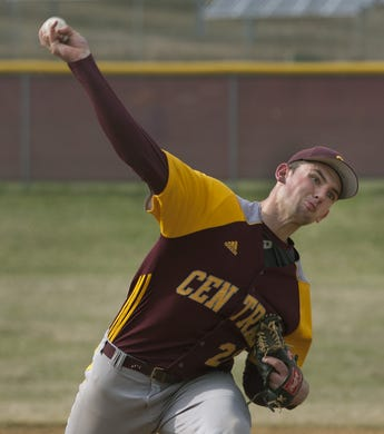 Andrew DiPiazza of Central Regional was a standout pitcher in 2013 and 2014