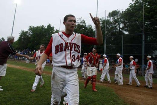 Kyle Rubbinaccio helped Manalapan win the 2011 NJSIAA Group IV state baseball championship.