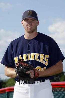 Brian Gilbert was both a pitching and hitting standout for Toms River High School North in 2010 and was a seventh round draft choice of the Minnesota Twins in 2013.