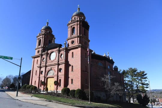 The Basilica of St. Lawrence on Haywood Street in downtown Asheville on Dec. 30, 2019.