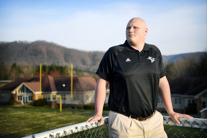 Ian Adams, a Christ School junior lineman wanted to announce his college football commitment this summer, but has moved up his announcement in part because of the spread of COVID-19.