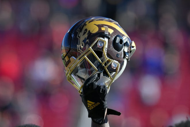Dec 30, 2019; Dallas, Texas, USA; Western Michigan prepares for the game against Western Kentucky at Gerald J. Ford Stadium. Mandatory Credit: Tim Flores-USA TODAY Sports