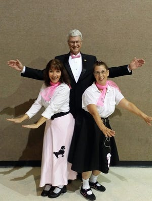 "Connie Maltby, Diana Sageser and Dave Hutson, aka The Swingtimers Vocal Trio, will perform with Melbourne Municipal Band's 22-piece Swingtime ensemble during  ""Big Band Greatest Hits"" on  Jan. 12 at Riverside Presbyterian Church in Cocoa Beach."