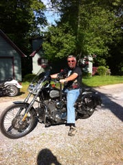 Judge Vincent Torpy enjoyed riding motorcycles as one of his hobbies.