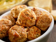 Turkey meatballs pack a protein punch as you get 2020 off to the right start.