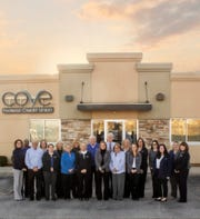 Cove Federal Credit Union is the safe harbor, the cove in which its members can place their trust and grow their future.