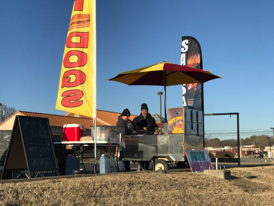 Pops & Dogs hot dog stand is about more than hot dogs for owner Paul Browning.