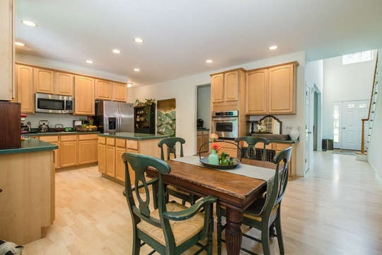 A Colonial is for sale inthe Hillcrest section of Milford for $369,900.