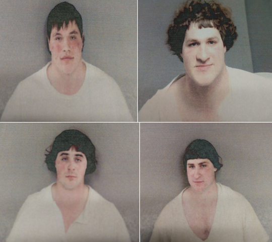 Four underage Gladwin County men were arrested Sunday after authorities said they took a drunken ride in a horse and buggy.