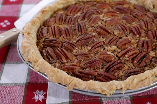 Pecan pie, Wednesday, Oct. 23, 2019.