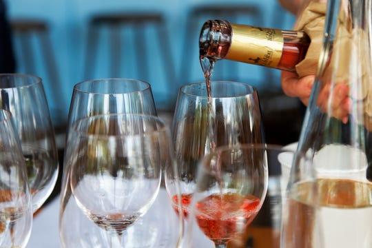 French Rose Wine Tasting at Bar Avignon. Motoya Nakamura/The Oregonian LC- The Oregonian