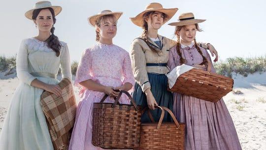 """Emma Watson, Florence Pugh, Saoirse Ronan and Eliza Scanlen in """"Little Women."""""""