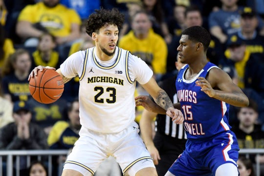 """""""I think this will be a big chance for us to make up a lot of ground,"""" Michigan sophomore forward Brandon Johns Jr. says."""