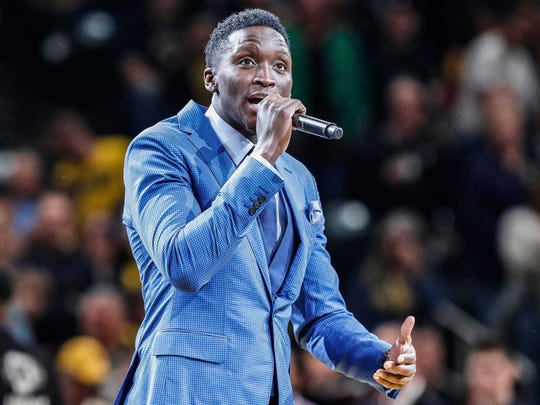 Victor Oladipo has a target date to return to Pacers lineup.