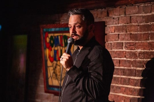 Comedian Nate Bargatze at the Long Center for the Performing Arts on Jan. 25.