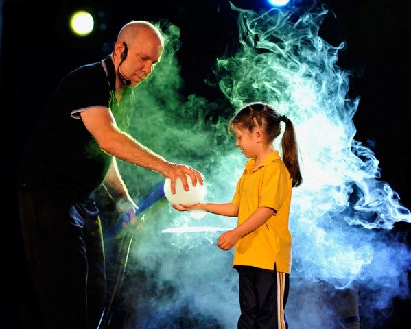 Jeff Boyer's Big Bubble Bonanza at Lafayette Theater on Jan. 26.