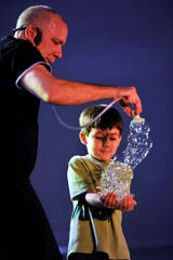 Jeff Boyer's Big Bubble Bonanza at the Lafayette Theater on Jan. 26.