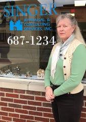 Karen Singer owns Singer Appraisal & Consulting Services, Inc., at 222 S. Broad St. in Lancaster.