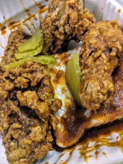 Louie's Hot Chicken and Barbecue is opening its second location in downtown Louisville. It offers hot chicken in heat levels medium, hot, extra hot and extra, extra hot.