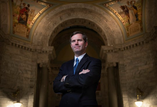 Andy Beshear is the 63rd governor of Kentucky after winning the election in November against the incumbent republican Matt Bevin.