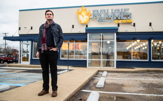 Ryan Rogers is behind Royals Hot Chicken and other popular eateries.