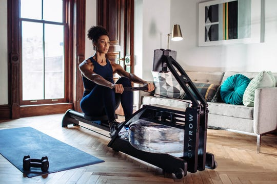 CITYROW GO offers a rowing experience that works the entire body and core.