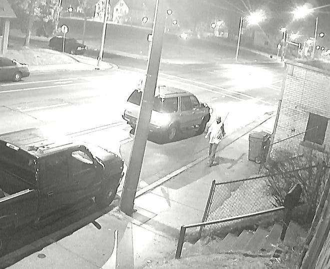 Milwaukee police are seeking help in identifying and locating this man wanted for a homicide Christmas Day near North 37th and West Center streets.