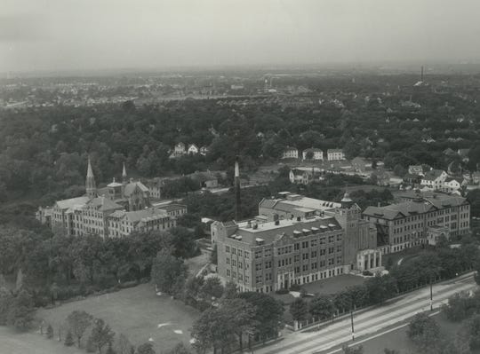 Cardinal Stritch College is pictured in this 1948 photo.