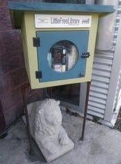 Kathie Giorgio's new literary lion came from Elwood, Illinois.