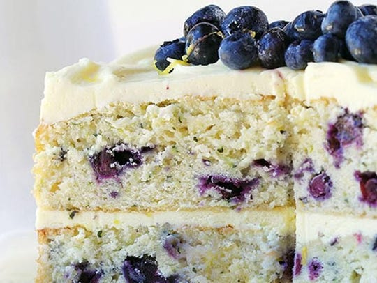 As layer cakes go, Blueberry Zucchini Cake with Lemon Buttercream has a lot going for it.