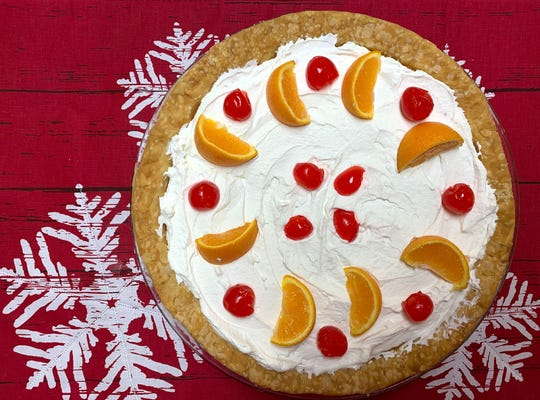 The old fashioned pie, topped with whipped cream is easy to make at home.