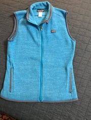 One of the best deals was a like-new Patagonia vest for $6 at This 'n That thrift shop.