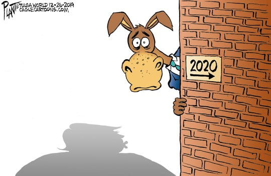 Democrats peek at 2020, see Trump.