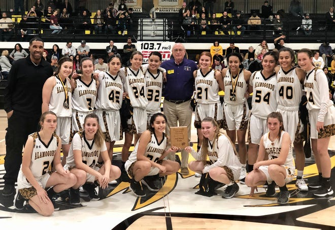The Alamogordo High School Lady Tigers came in second place in the Girls Division at the Kiwanis Invitational.   Alamogordo High School hosted the 2019 Kiwanis invitational Dec. 26-28.