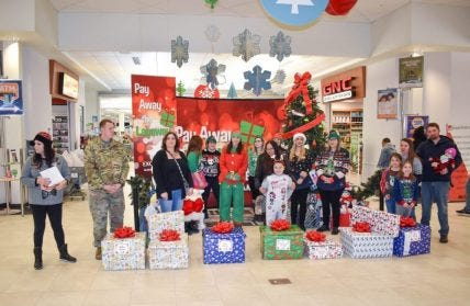 The Layaway Angels made visits to 10 Exchanges! Military families were surprised with more than $26,000 in holiday layaways paid off on last week. The Army & Air Force Exchange Service teamed up with the nonprofit organization Pay Away the Layaway to give these deserving families a holiday gift to remember.