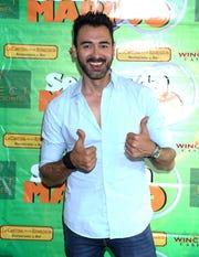 """Fotografía de archivo fechada el 5 de abril de 2016 que muestra al actor mexicano Sebastián Ferrat, actor de la serie """"El señor de los cielos""""."""
