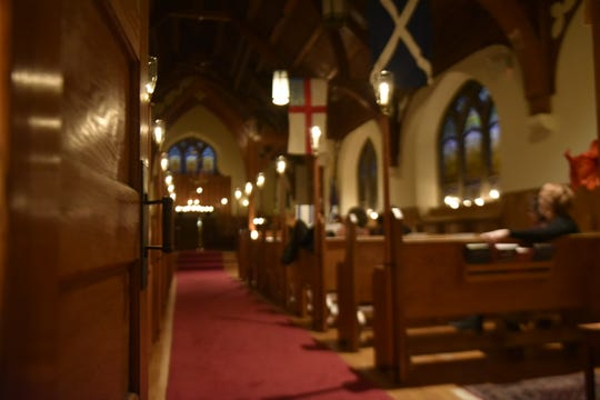 In addition to the outpouring of positive thoughts for Brian Helman at his workplace, a candlelight vigil was held atSt. Andrew's Episcopal Church in Shippensburg on Dec. 17.Helman played piano regularly for the congregation.