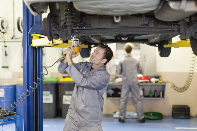 Unlike local garages, dealerships employ only certified technicians.