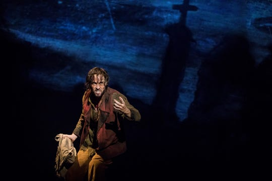 "Nick Cartell as Jean Valjean in the new national tour of ""Les Miserables,"" coming to Hammons Hall for the Performing Arts in January."